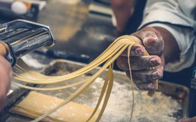 Tagliatelle Roquefort + ripasso